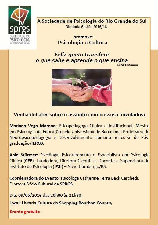 PSICOLOGIA E CULTURA MAIO-16