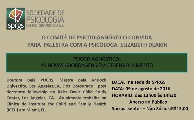 COMITÊ PSICODIAGNÓSTICO
