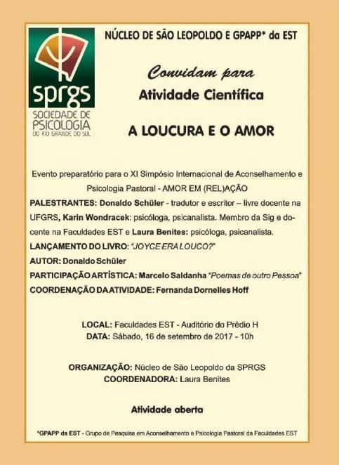 ATIVIDADE DE SÃO LEOPOLDO