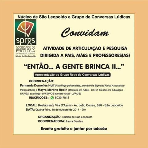 ATIVIDADE SÃO LEOPOLDO